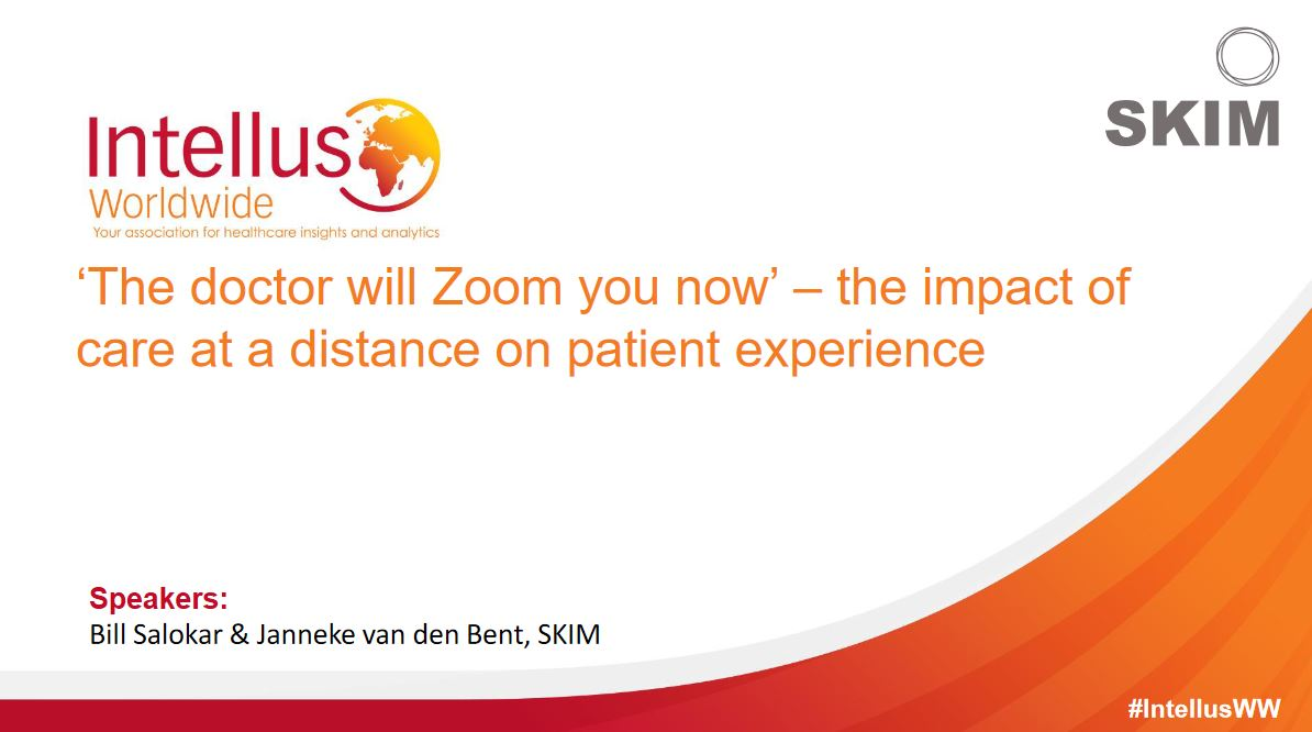 The Doctor Will Zoom You Now - The Impact of Care at a Distance on Patient Experience